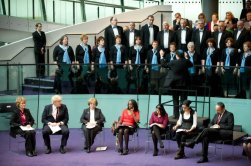 With Boris Johnson, Mayor of London, City Hall Panel