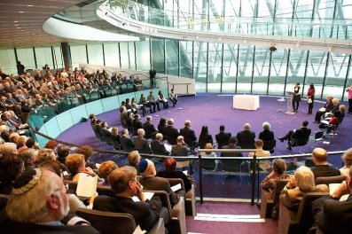 Holocaust Memorial Day Speech in City Hall