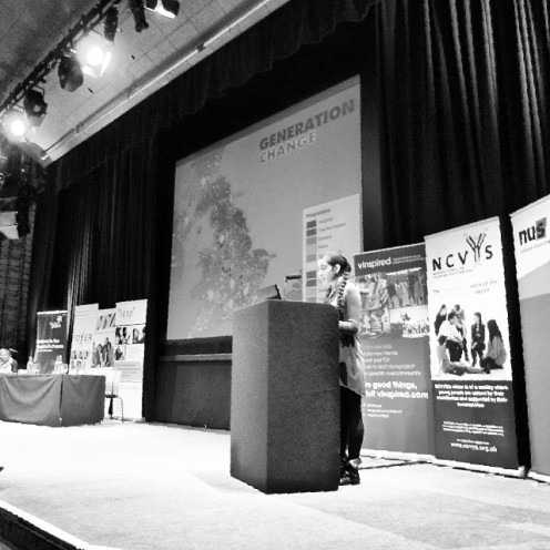 Creative Collisions Speech - conference bringing together organisations in the youth sector