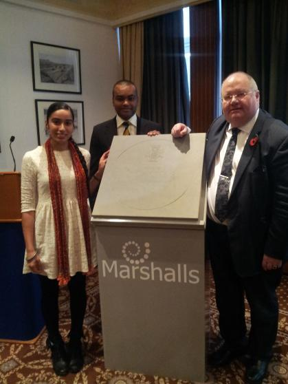 Unveiling the new Victoria Cross designs with Jonson Beharry and Eric Pickles