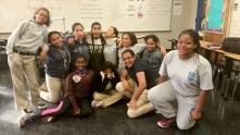 Harlem, NYC World Music and Leadership workshop at Public School 192 in Harlem, New York (October 2015) - America Scores