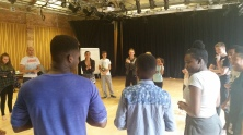 World Music, Theatre & Leadership Workshop with Islington Community Theatre August 2015