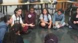 Harlem NYC, World Music and Leadership workshop at Public School 192 in Harlem, New York (October 2015) - America Scores